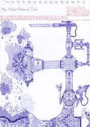 Art #68 -- The Molten-Mechanical Clash. by Naean