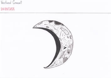 Art #82 -- Weathered Crescent by Naean