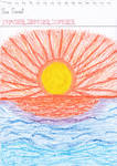 Art #85 -- Sea Sunset by Naean