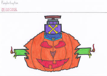 Art #87 -- Pumpkintraption by Naean