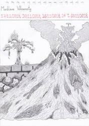 Art #95 -- Marblava Volcanicity by Naean