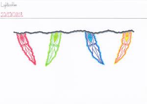 Art #97 -- Lightcickles