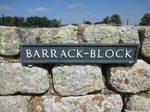Photo #45 -- BARRACK~BLOCK Sign