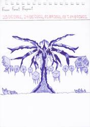 Art #104 -- Frozen Forest Fragment