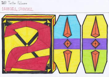 Art #106 -- 200 Twitter Followers