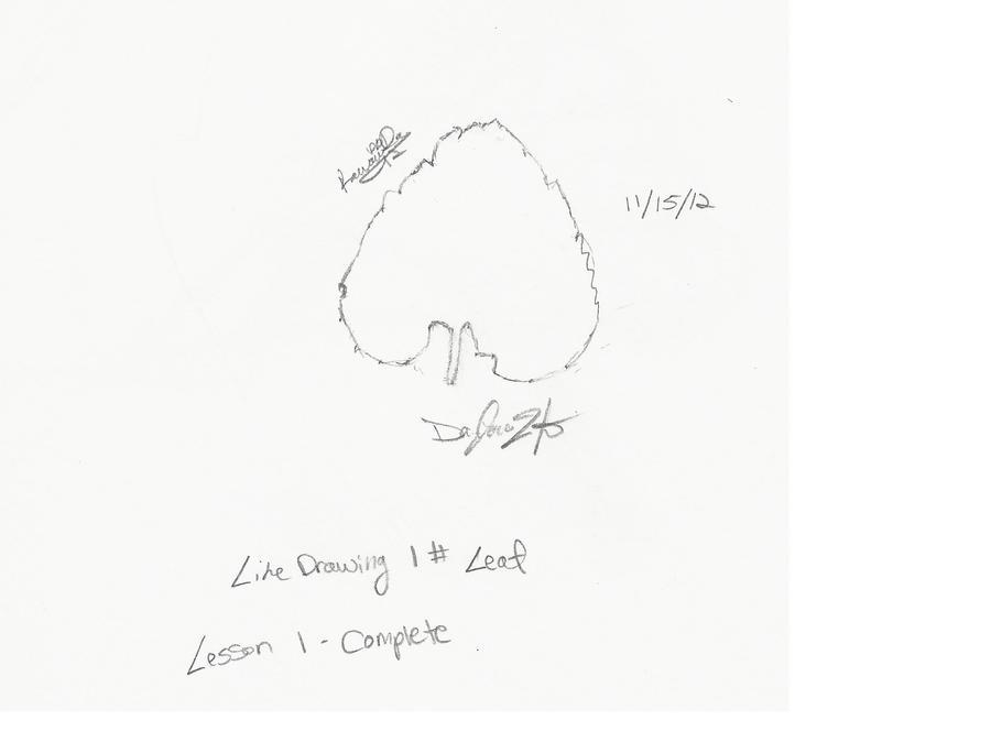 Line Drawing 1 by KawaiiDay