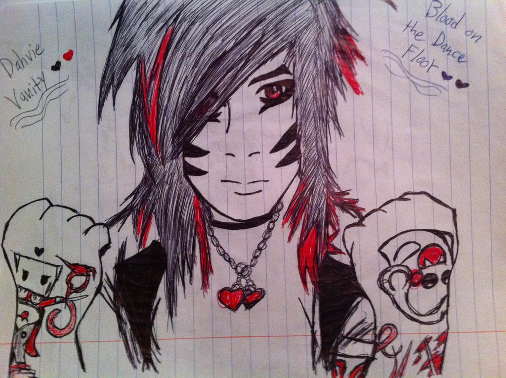 Dahvie vanity botdf by epicrainbowmadness on deviantart for Blood on the dance floor epic