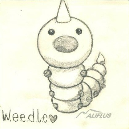 Weedle by 99scribbles
