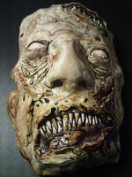 One of the first sculpey masks Ive done. by ThatsJustAweful