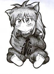 Child Inuyasha by o0-hiitomii-0o