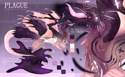 ADOPT AUCTION - CLOSED | #28 | PLAGUE by Topolok