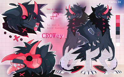 ADOPT AUCTION - CLOSED | crowey by Topolok
