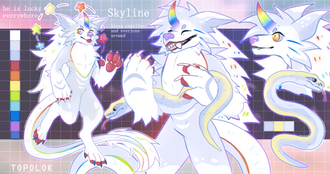ADOPT AUCTION - CLOSED | skyline by Topolok
