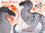 Closed   Dinosaur zebra