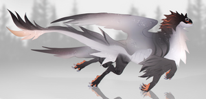 Closed | Gray griffin
