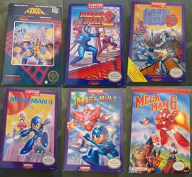 Mega Man Collection by Sour-Sauce