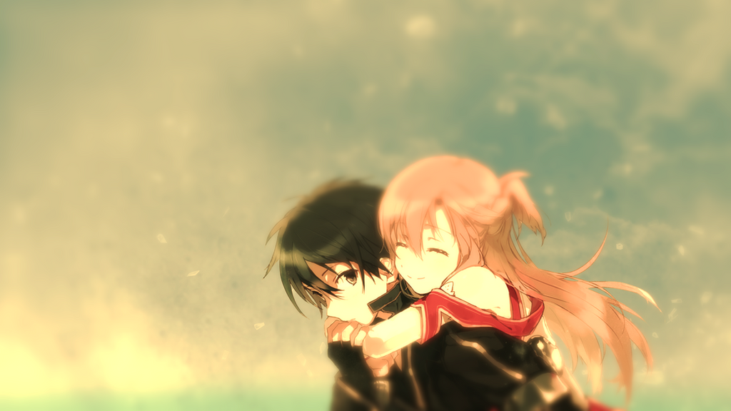 Sword Art Online Kirito X Asuna Wallpaper By EtrnlPanda