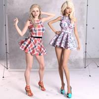 Spring Dress by SlimMckenzie