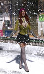 Delilah in the Snow by SlimMckenzie
