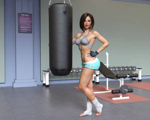Distractions - Riley at the Gym