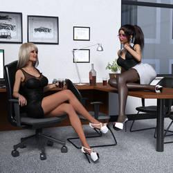 Office Wife - 3 by SlimMckenzie