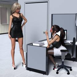 Office Wife -1 by SlimMckenzie