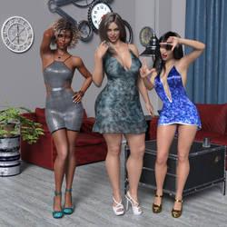 Three New Women by SlimMckenzie