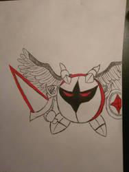 Galacta Knight with Red Pen by BakuhatsuNoKami
