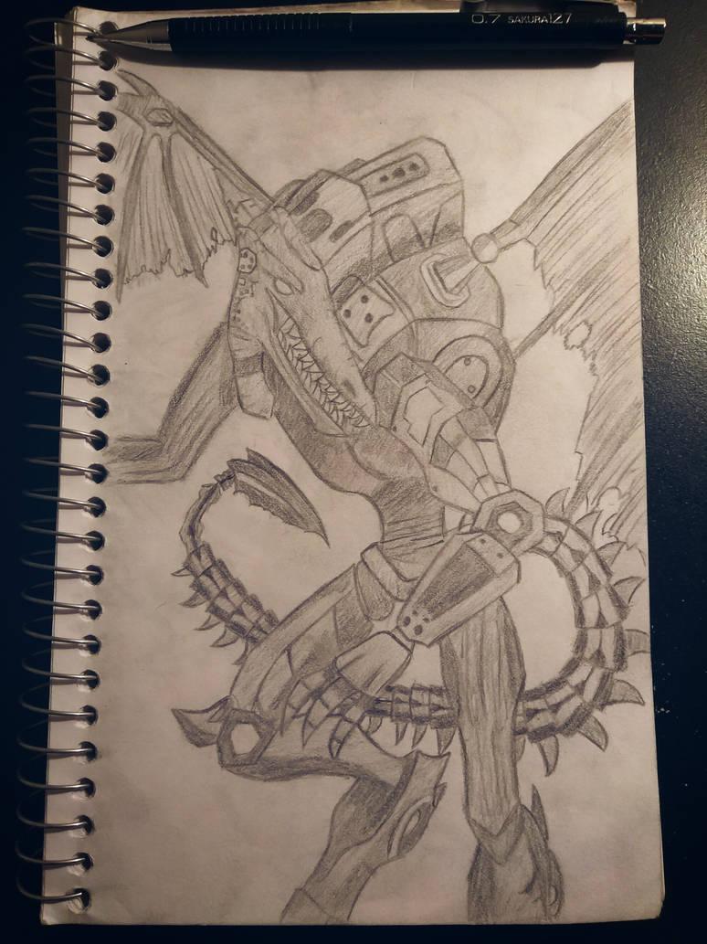 Proteus Ridley by BakuhatsuNoKami