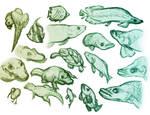 Portfolio: Animal sketches