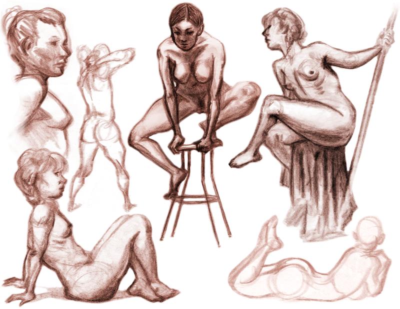 Drawing Nude People 112