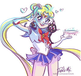 Sketch Dailies: Sailormoon!