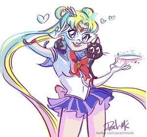 Sketch Dailies: Sailormoon!