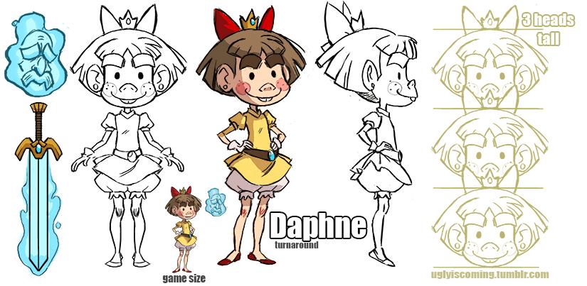 Daphne-turnaroundsm by peach-mork