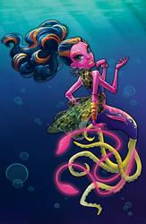 MH: Great Scarrier Reef Box Art - Kala Mer'ri by peach-mork