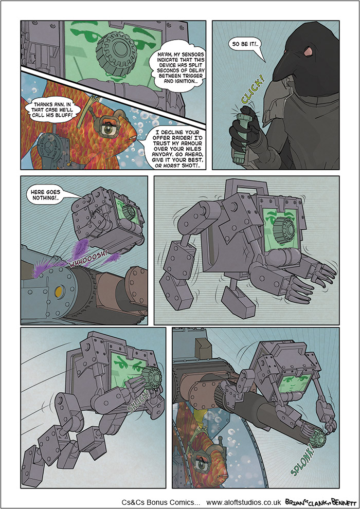 CnC WebComic FT146 by BrianClankBennett