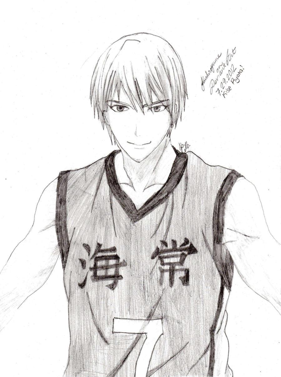 Kise Ryouta - uniform by Kushiroyume