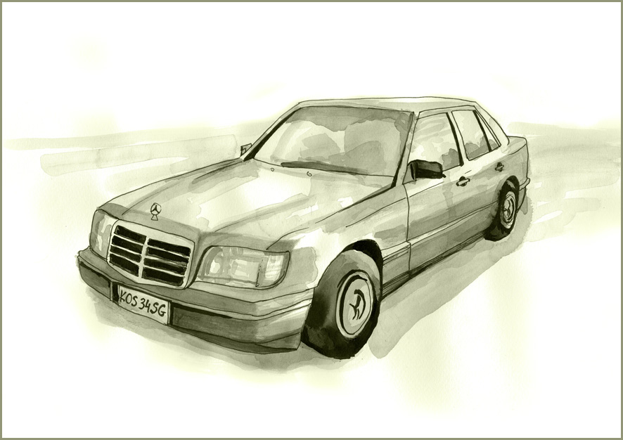 Mercedes Benz by MartaDeWinter