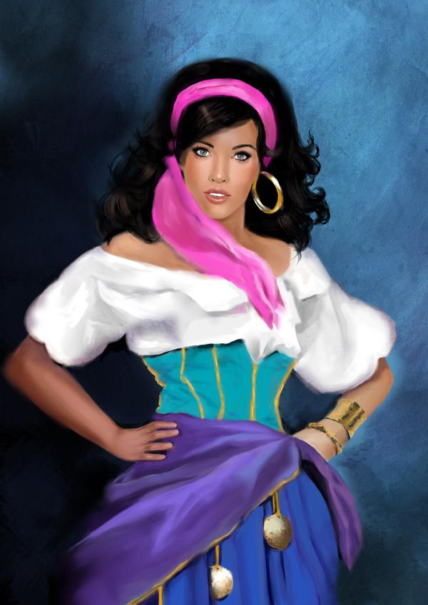 Esmeralda color by MartaDeWinter