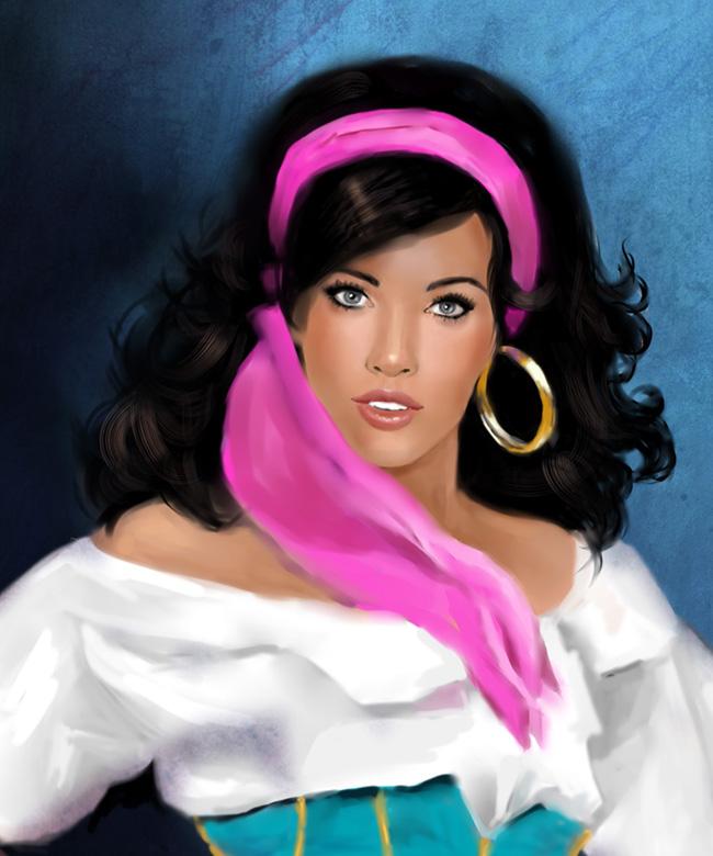 Esmeralda zoom by MartaDeWinter
