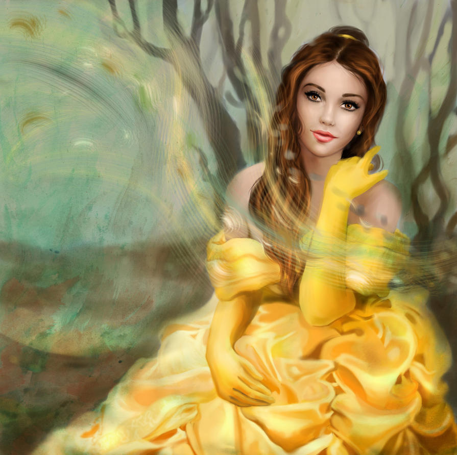 Belle by MartaDeWinter on DeviantArt
