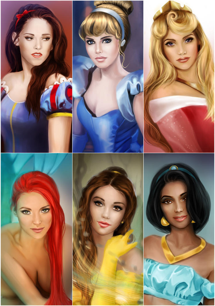 My Disney Princesses by MartaDeWinter