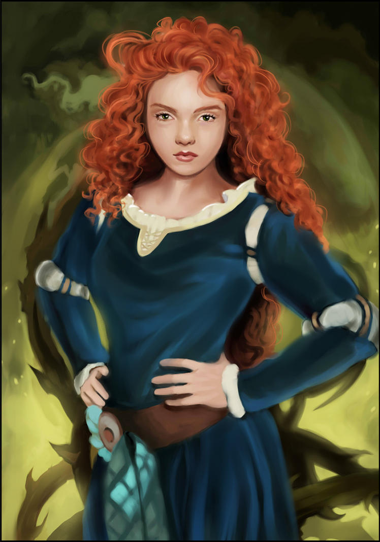 Merida Brave by MartaDeWinter
