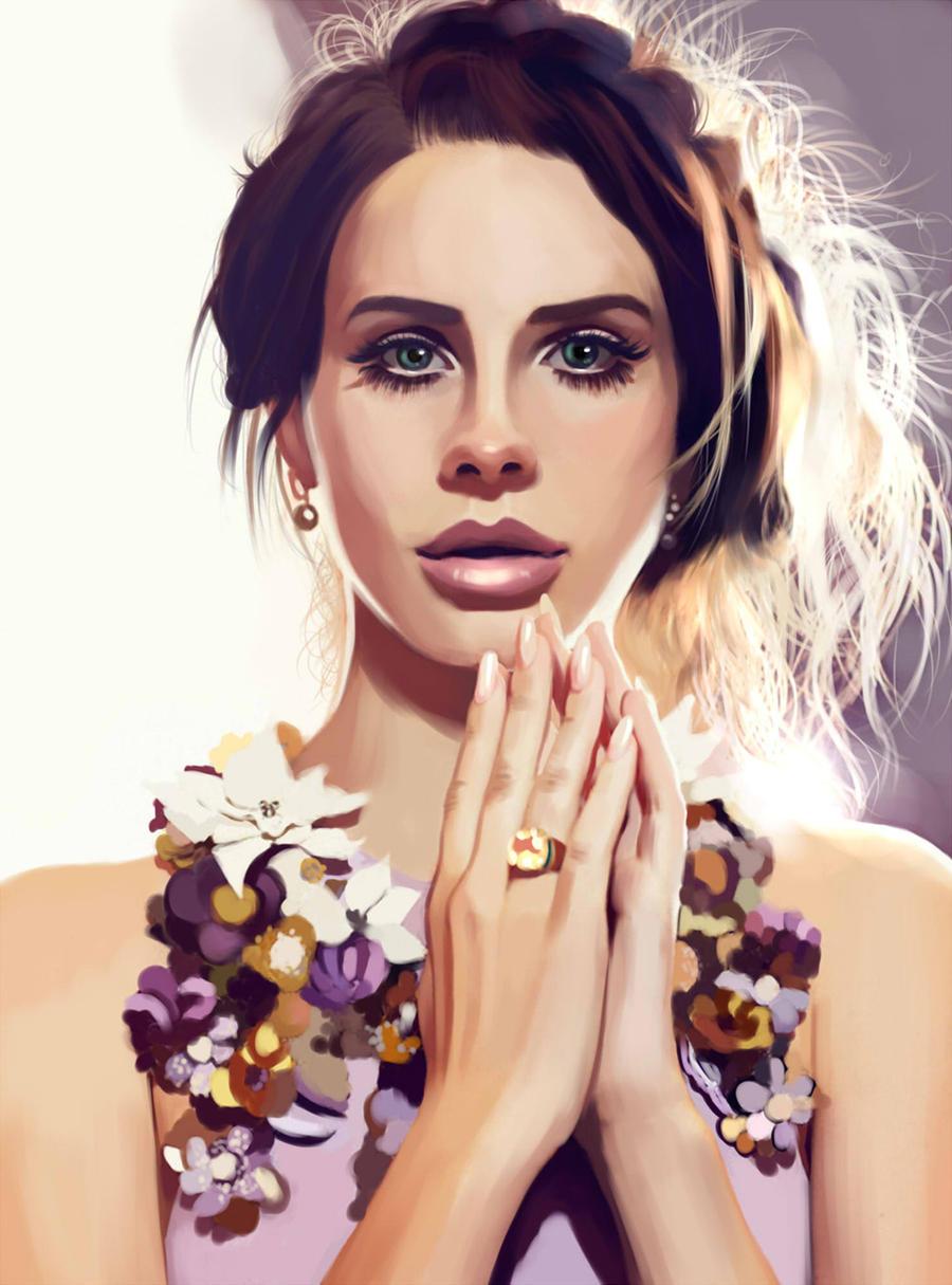 Lana Del Rey by MartaDeWinter