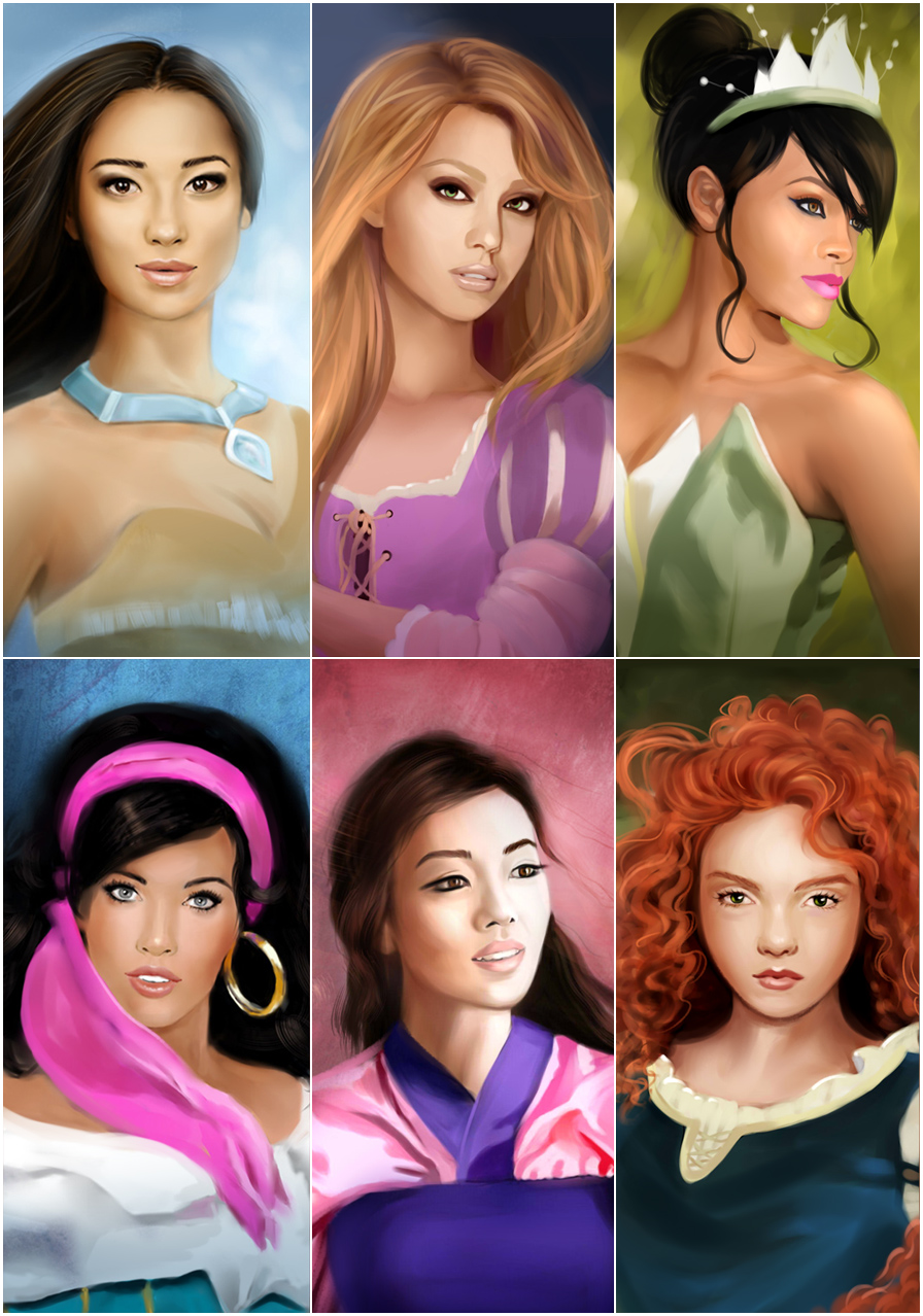 My Disney Princesses 2 by MartaDeWinter