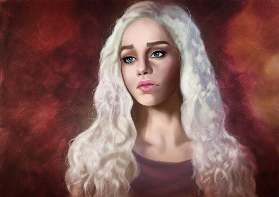 Daenerys Targaryen by MartaDeWinter
