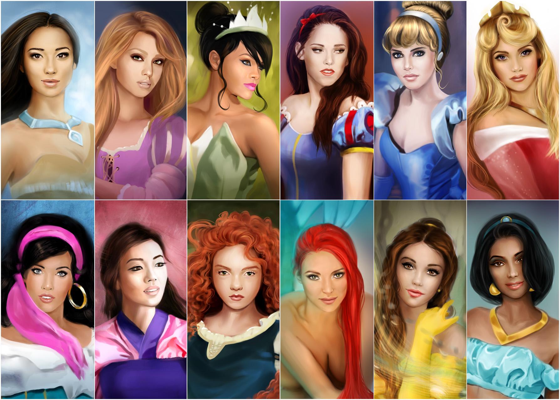 Disney Beauties by MartaDeWinter