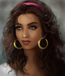 Esmeralda portrait by MartaDeWinter