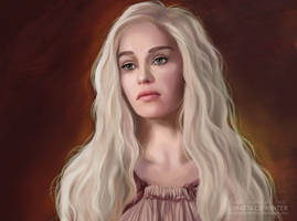 Daenerys Targaryen -  new version by MartaDeWinter