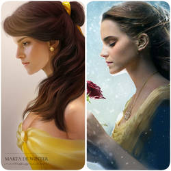 Beauty and the Beast by MartaDeWinter